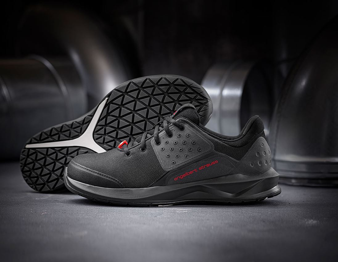 S1: e.s. S1 Safety shoes Hades + black