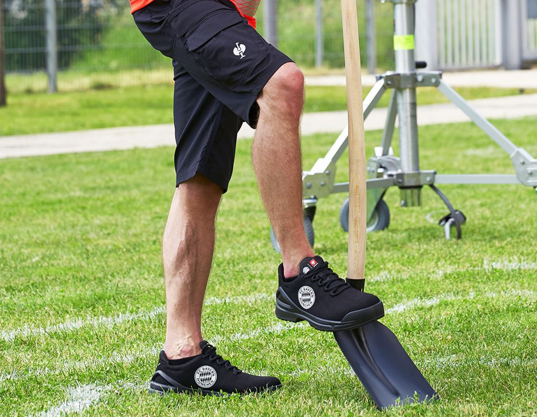 S1: FCB SAFETY TRAINER S1 WITH TOE CAP EN ISO 20345 + black