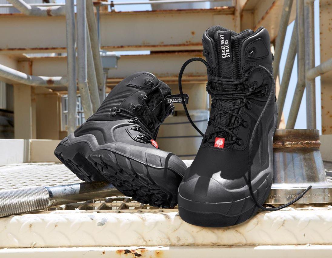 S3: e.s. S3 Chaussures de sécurité Apodis mid + noir