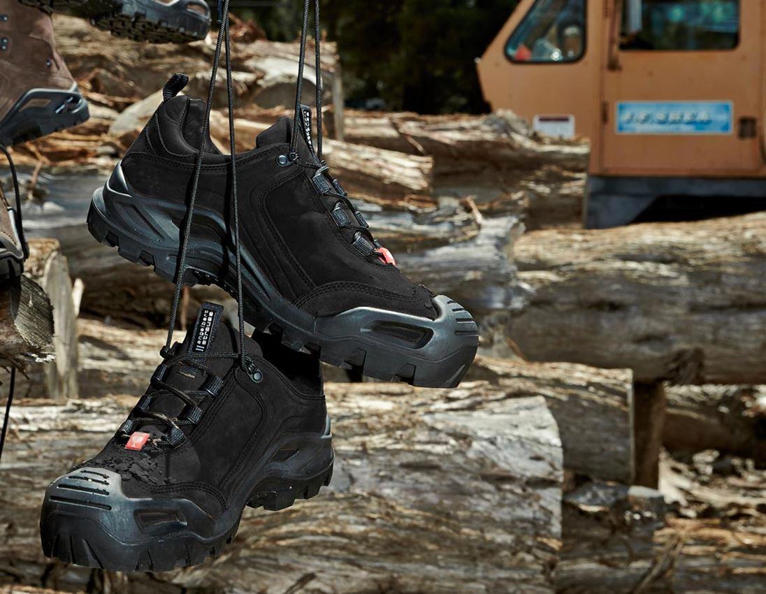 S3: e.s. S3 Safety shoes Nembus low + black