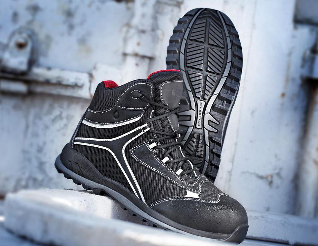 S3: e.s. S3 Safety boots Zahnia mid + black