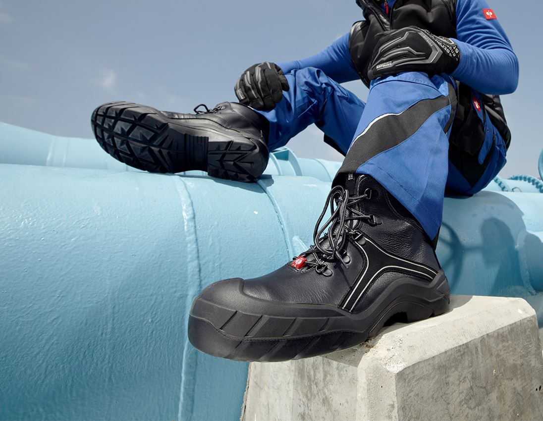 S3: e.s. S3 Safety boots Hadar + black/white