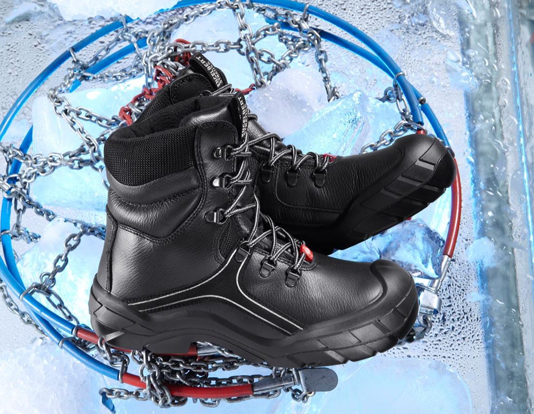 S3: e.s. S3 Safety boots Canopus + black