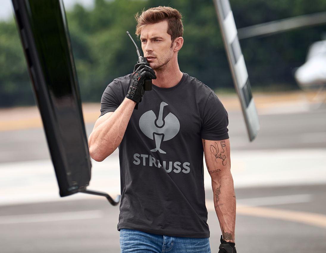 Shirts & Co.: T-Shirt e.s.concrete + schwarz