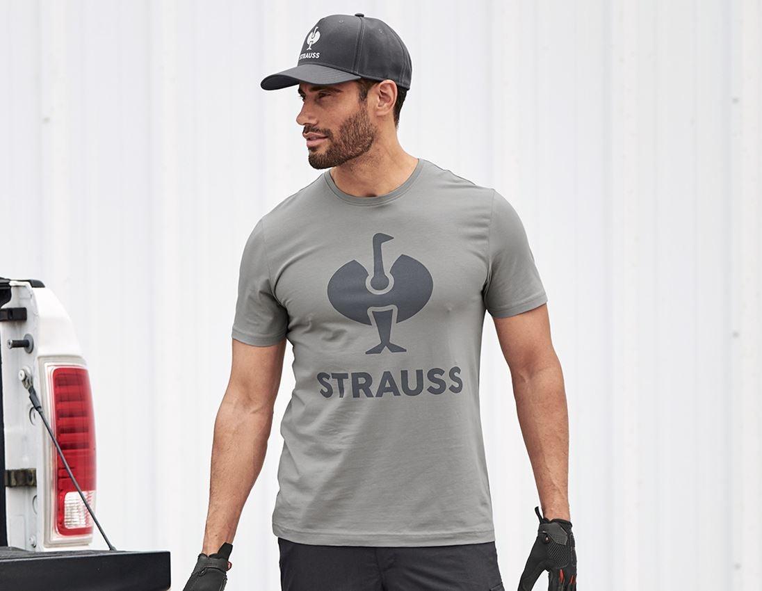 Shirts & Co.: T-Shirt e.s.concrete + perlgrau