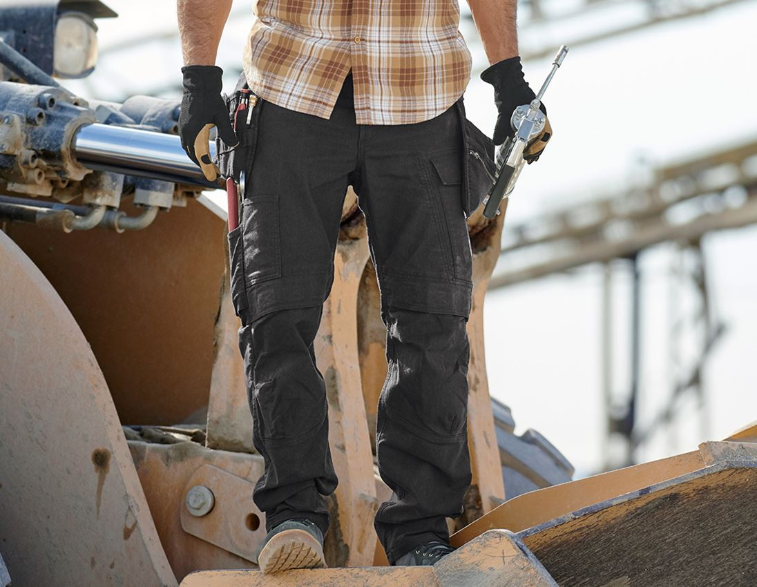 Work Trousers: Holster trousers e.s.vintage + black