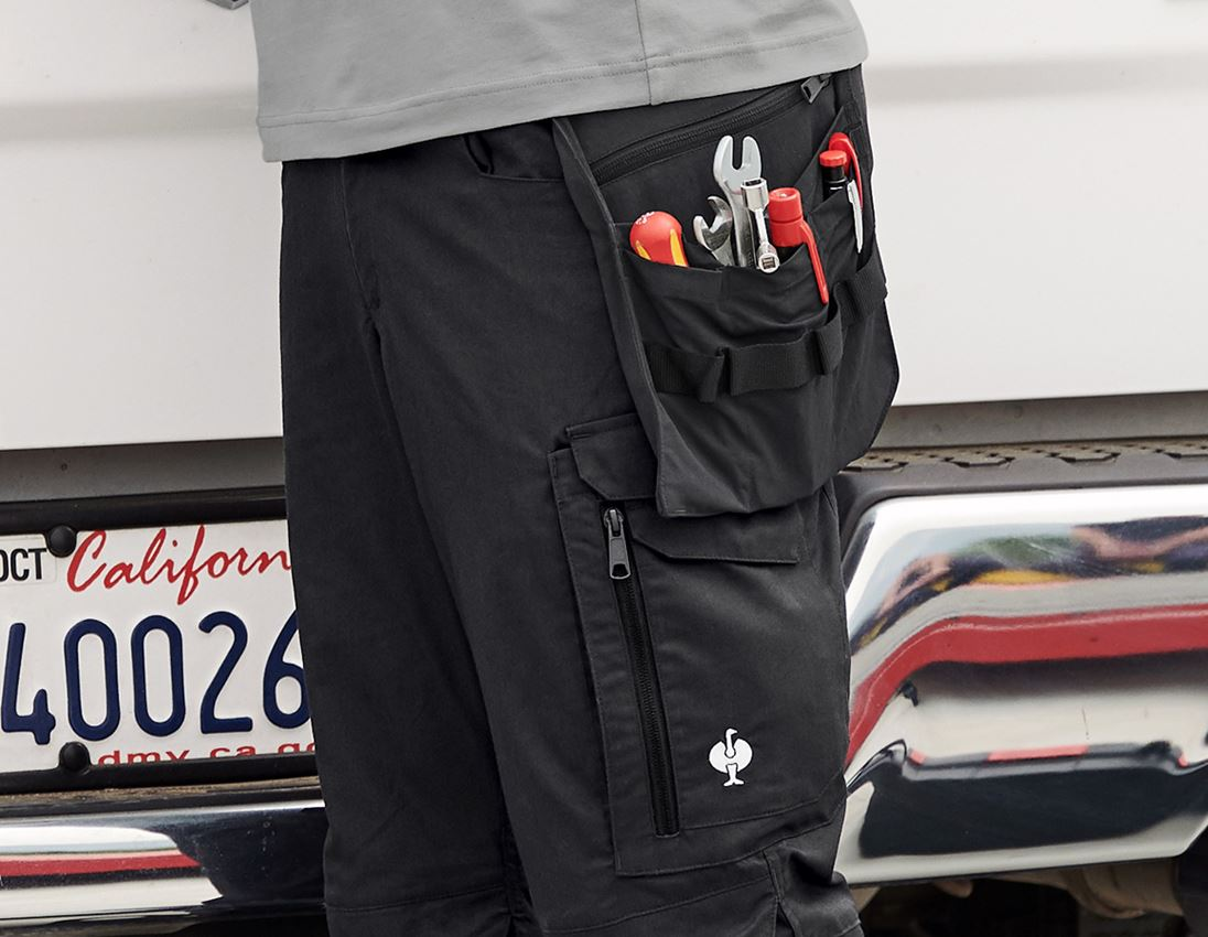 Accessories: Tool bags e.s.concrete light + black