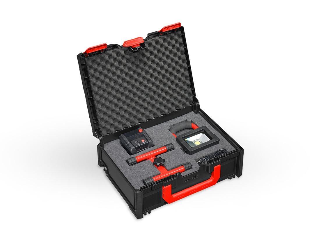 Tool Cases: Pre-cut foam insert STRAUSSbox 145 midi