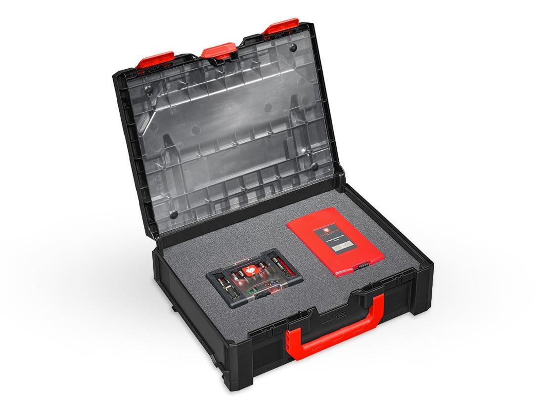 Tool Cases: Lid film incl. pins STRAUSSbox midi+