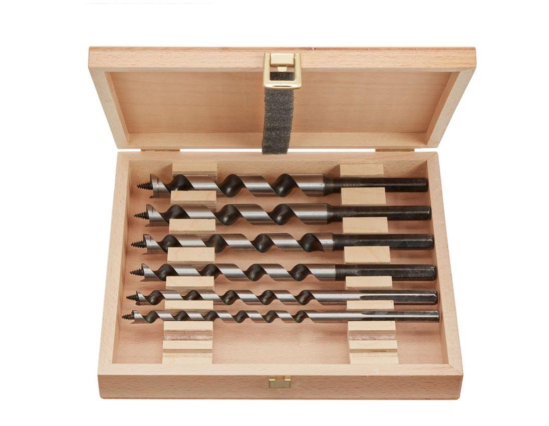 Drills: e.s. Lewis auger set 6-part