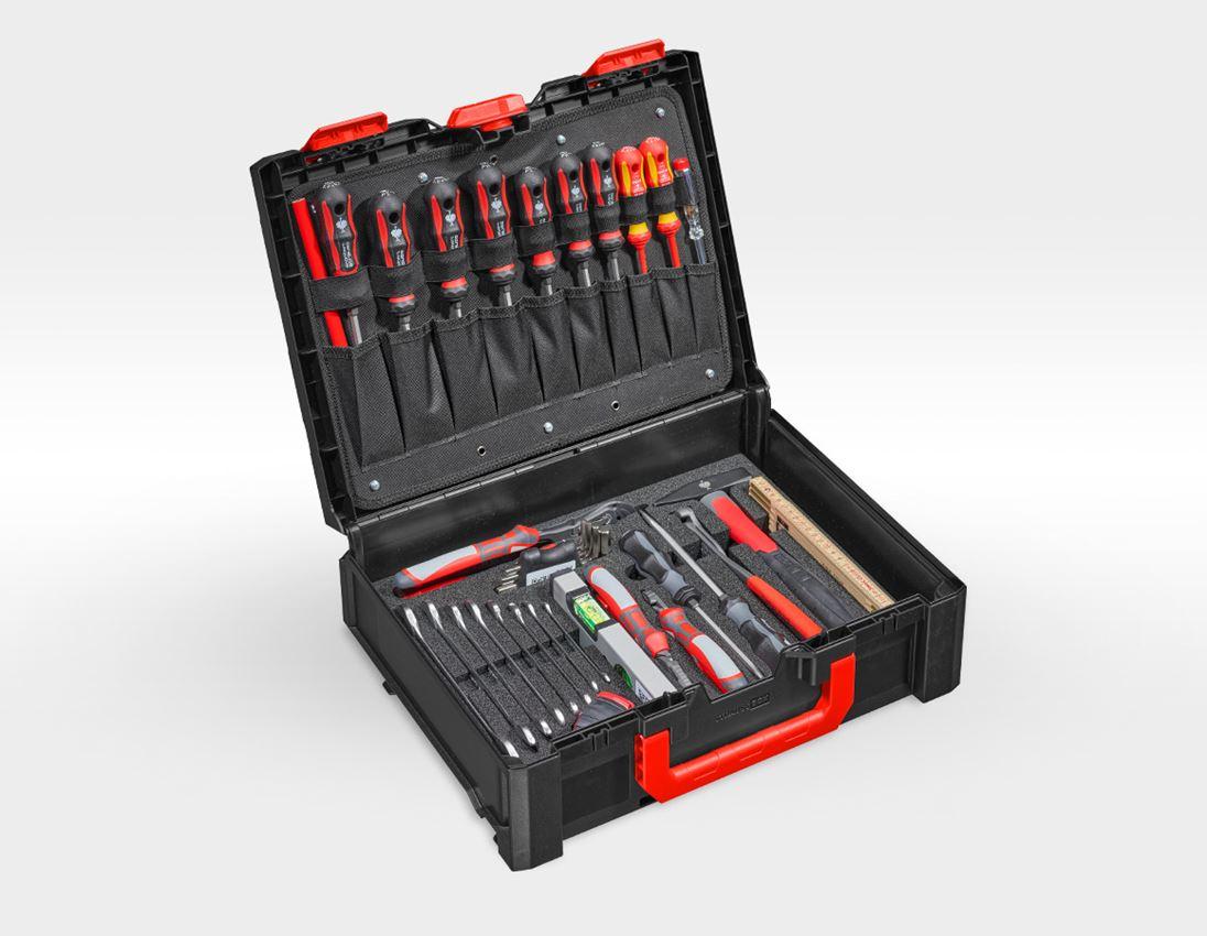 Tool Cases: STRAUSSbox tool set 145 Allround