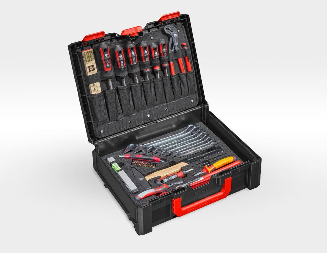 Werkzeugkoffer: STRAUSSbox Werkzeug-Set 145 Installation