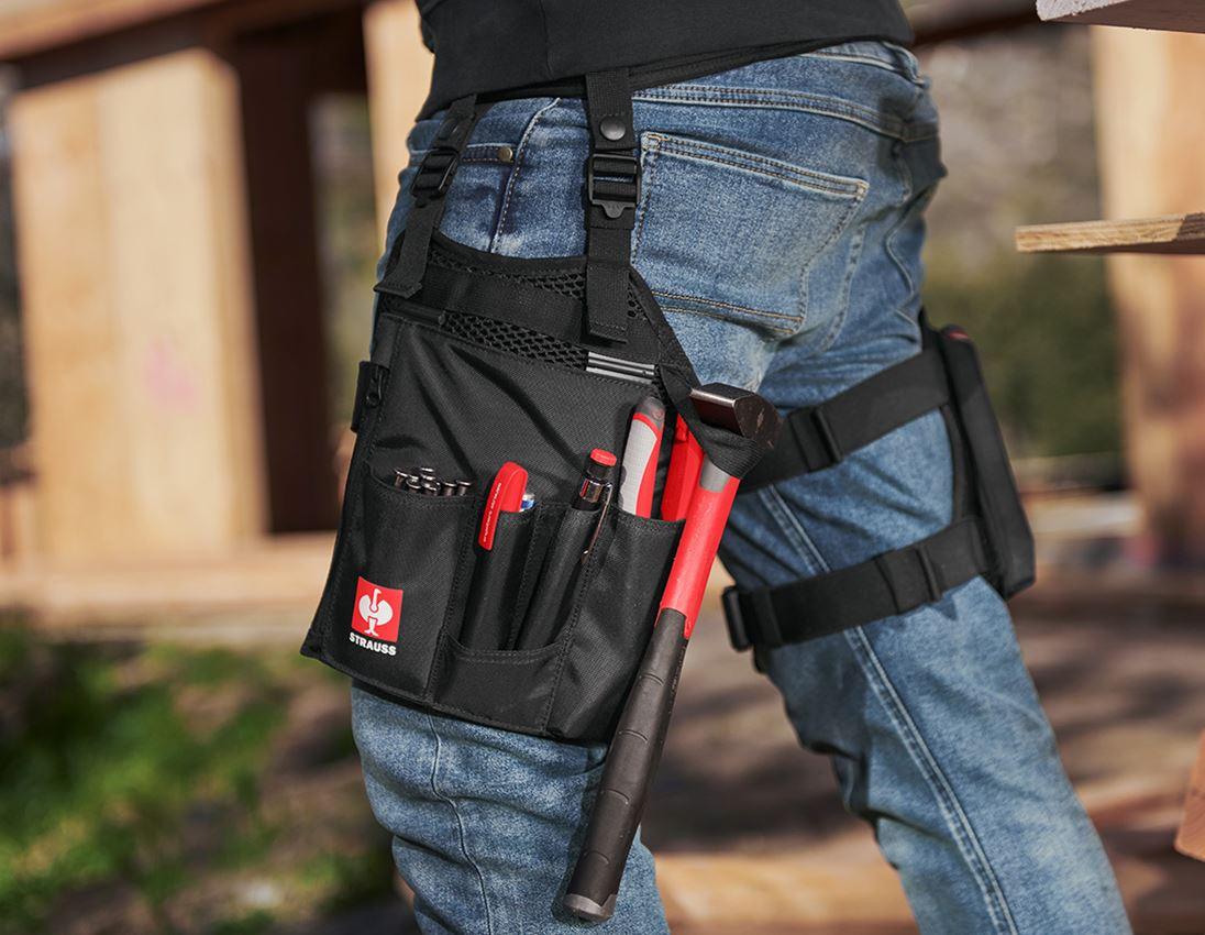 Accessories: e.s. Tool Bag Set Legpack + black
