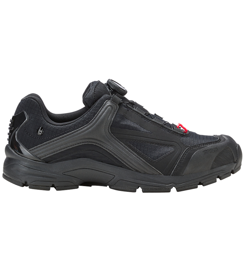 O2: e.s. O2 Work shoes Minkar + black