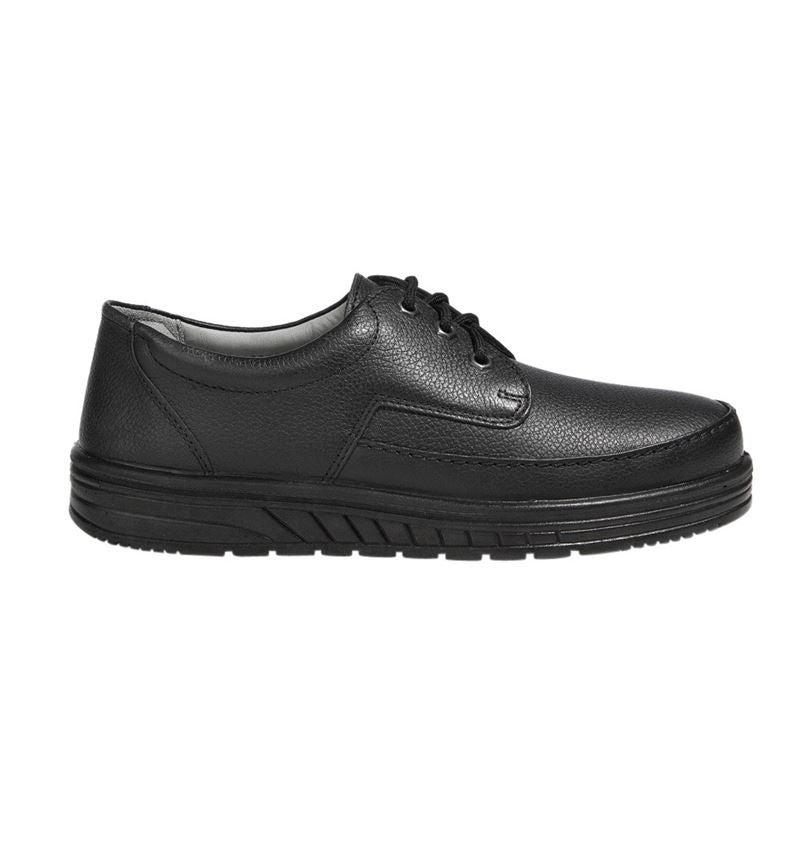 O1: ABEBA O1 Men's lace-up shoes Kai + black
