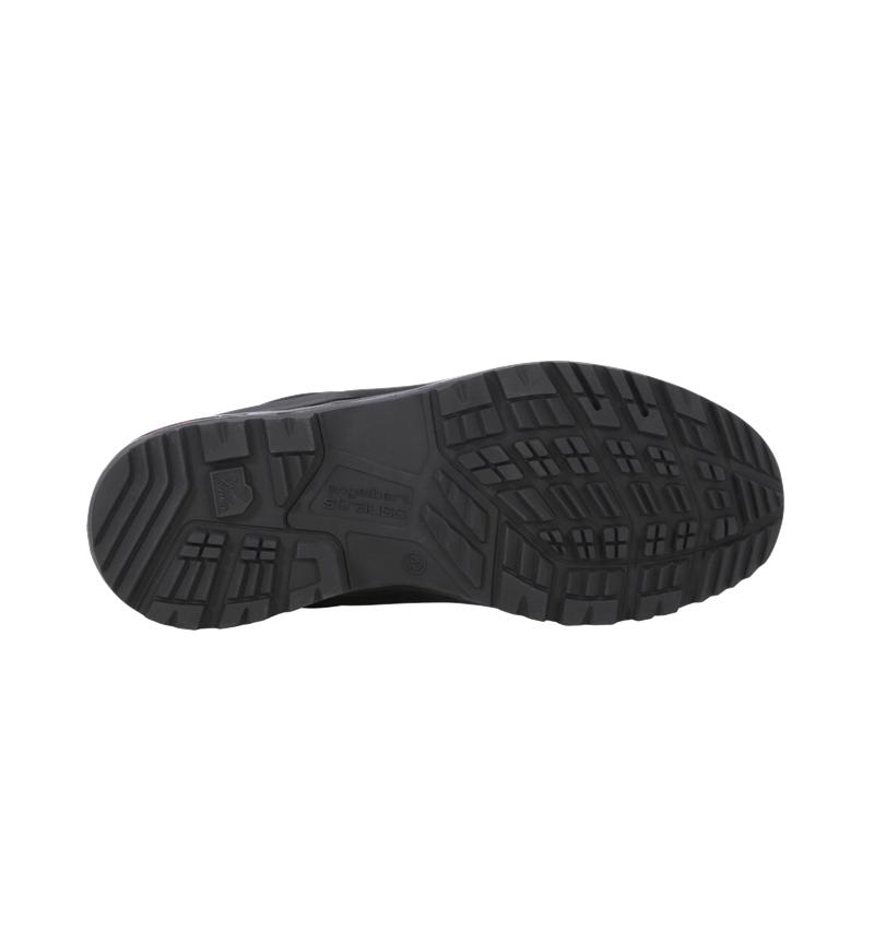 O2: e.s. O2 Work shoes Themisto low + black 2
