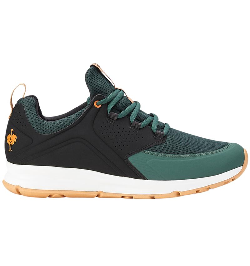 O1: e.s. O1 Work shoes Honnor, men's + oxidblack/nightgreen