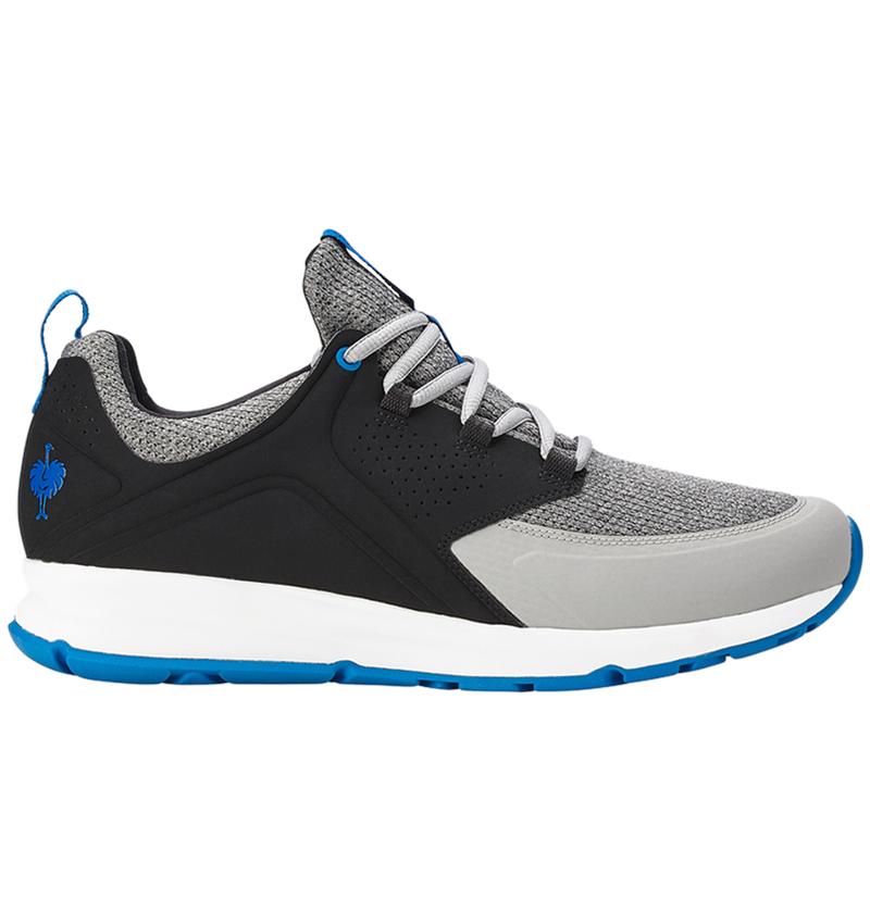 O1: e.s. O1 Work shoes Honnor, men's + oxidblack/peacockblue