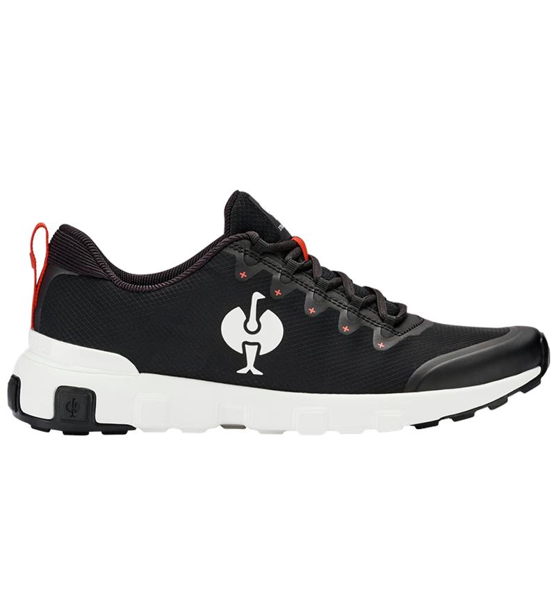 Other Work Shoes: Allround shoe e.s. Bani + black/white