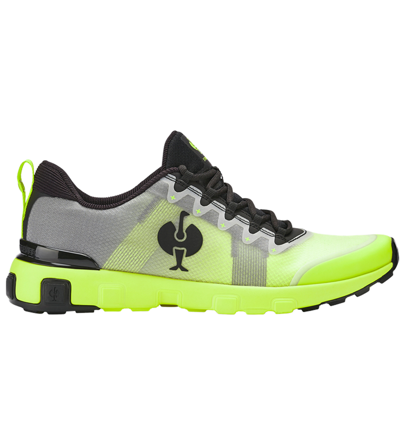 Other Work Shoes: Allround shoe e.s. Bani + high-vis yellow