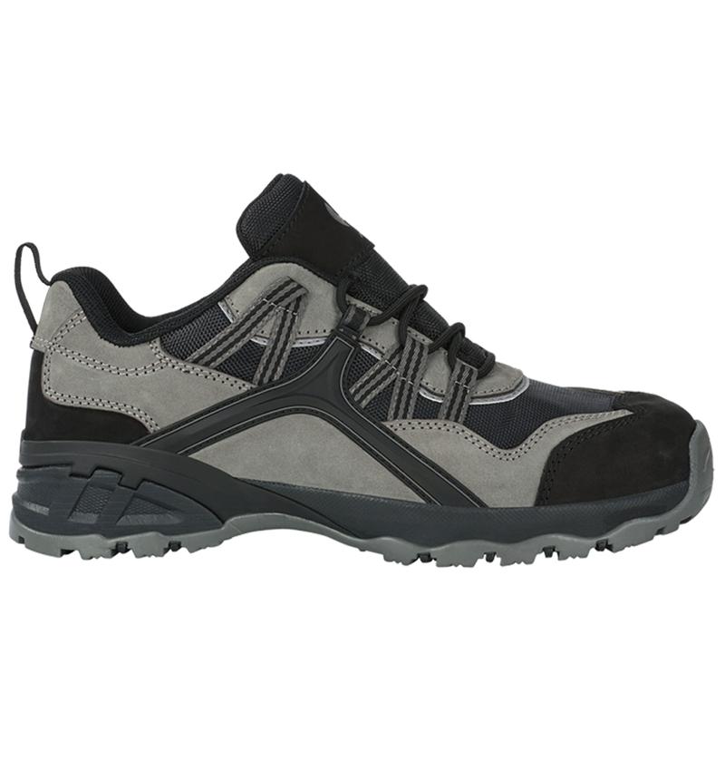 S1: e.s. S1 Safety shoes Pallas low + cement/black
