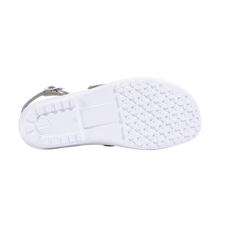 SB: ABEBA SB Safety shoes Rhodos + white 2