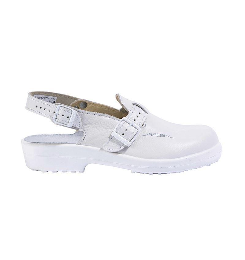 SB: ABEBA SB Safety shoes Rhodos + white