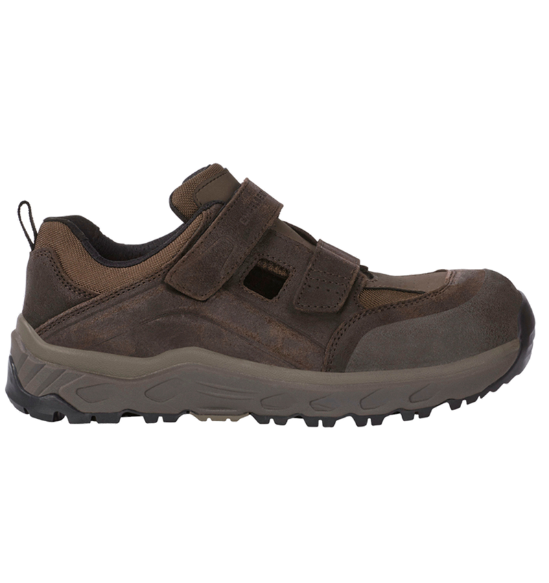 S1: e.s. S1 Safety sandals Siom-x12 + chestnut