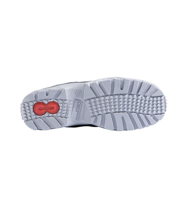 S1: S1 Safety shoes Relax + anthracite/grey 2