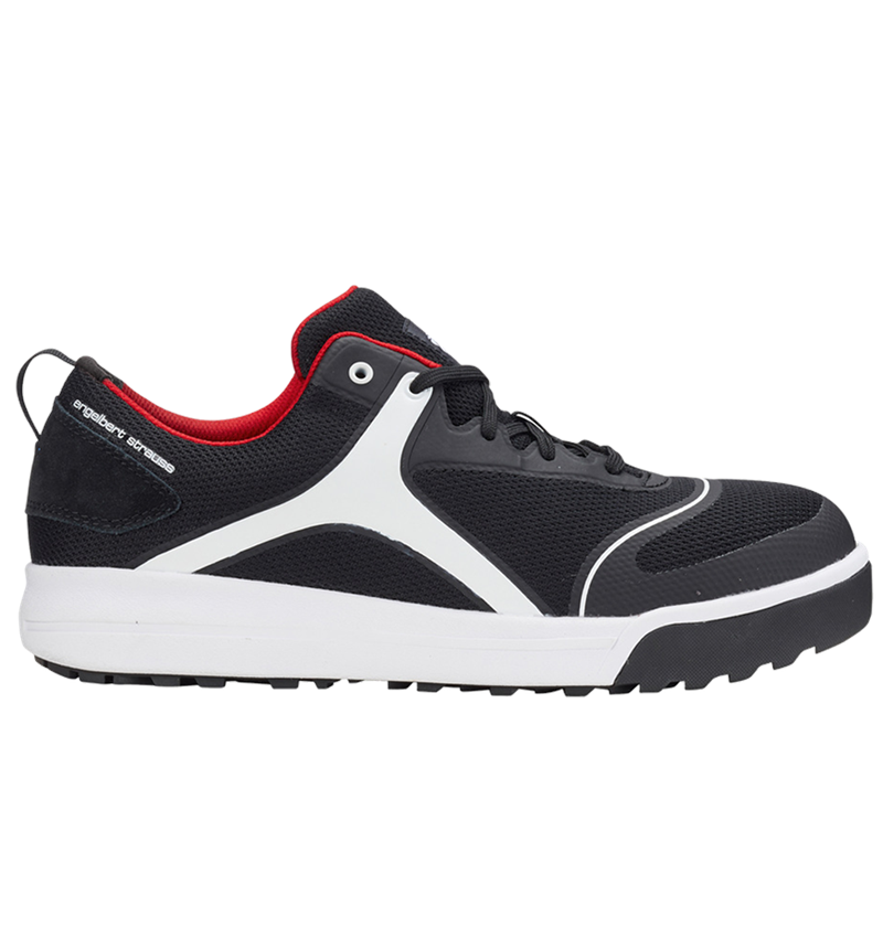 S1: e.s. S1 Safety shoes Vasegus low + black/white