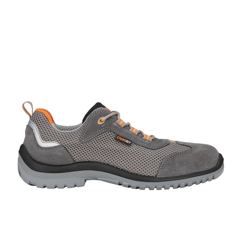 S1: STONEKIT S1 Safety shoes Luca + anthracite/orange