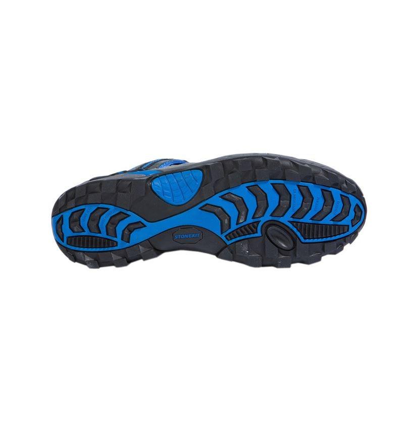 S1: STONEKIT S1 Safety sandals Milano + grey/blue 2
