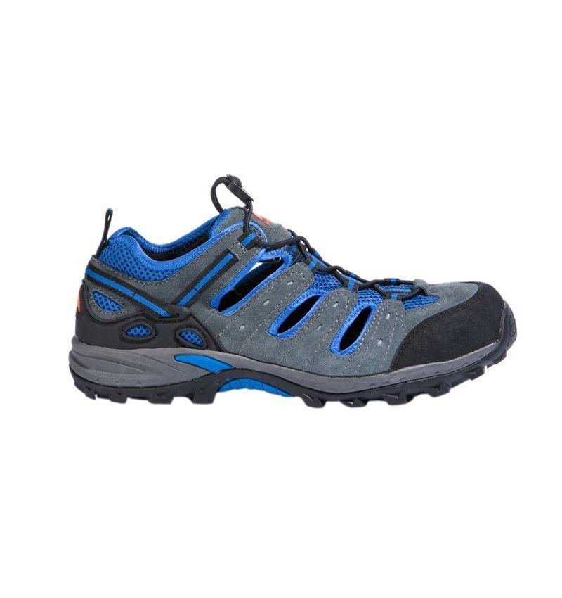 S1: STONEKIT S1 Safety sandals Milano + grey/blue