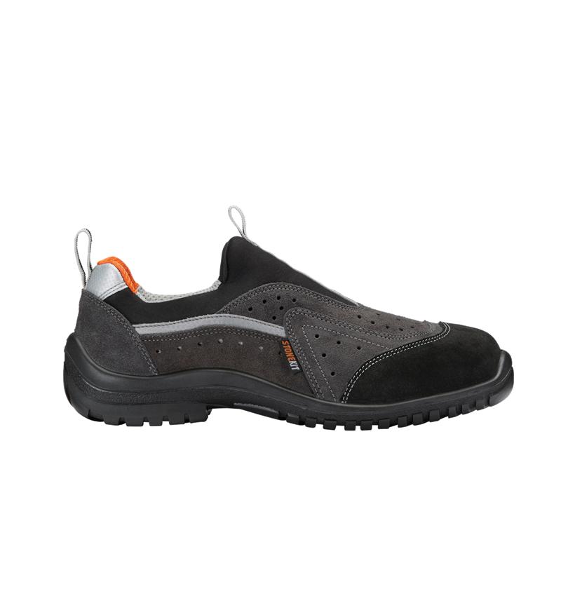 S1: STONEKIT S1 Safety shoes Bregenz + grey