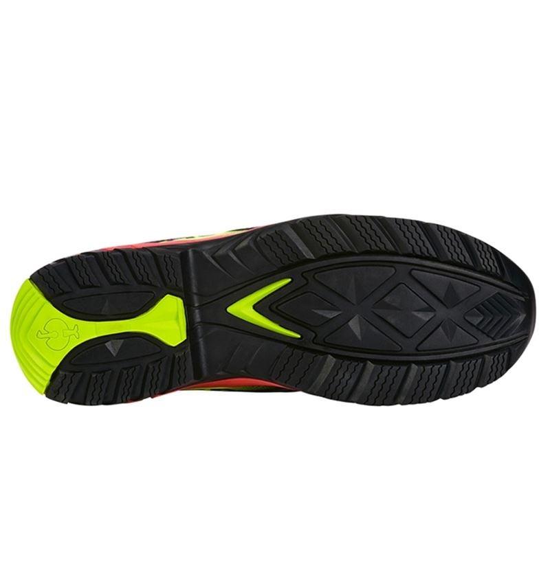 S1: e.s. S1 Safety shoes Merak + black/high-vis yellow/high-vis orange 2