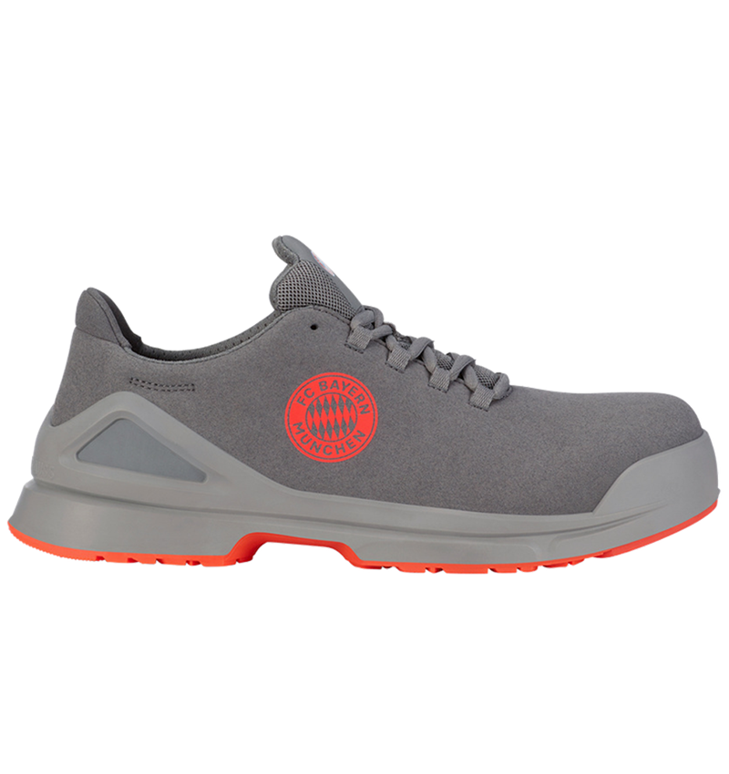 S1: FCB SAFETY TRAINER S1 WITH TOE CAP EN ISO 20345 + pearlgrey