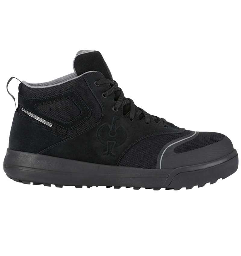 S1: S1 Safety boots e.s. Vasegus II mid + black