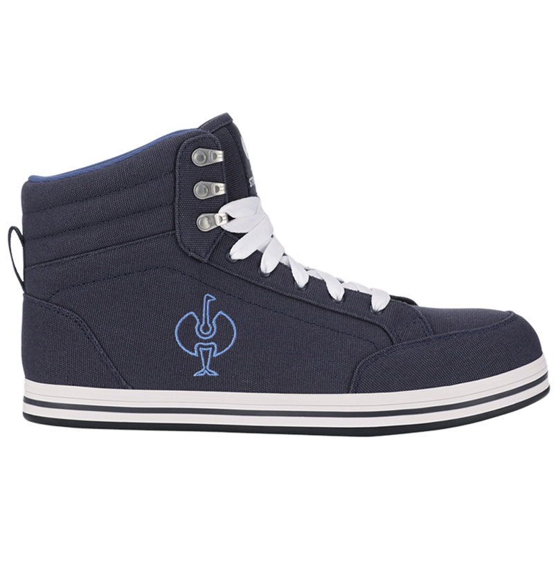 S1P: S1P Safety boots e.s. Tolosa II mid + pacific/cobalt