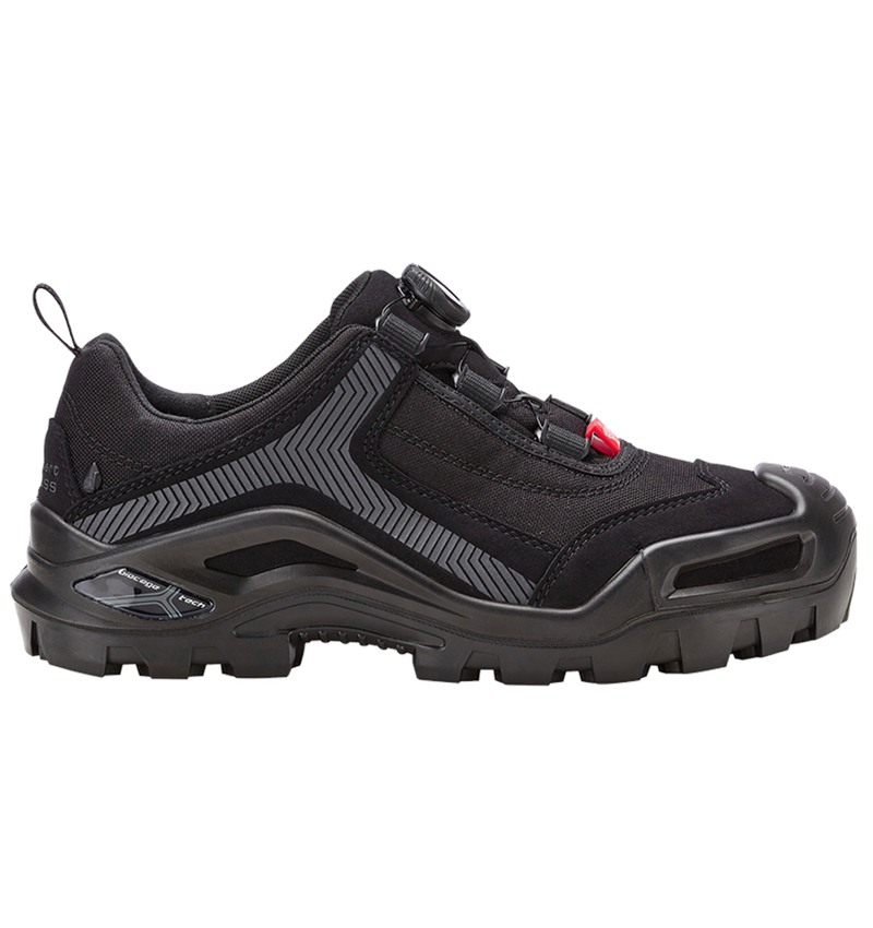S3: e.s. S3 Safety shoes Kastra low + black