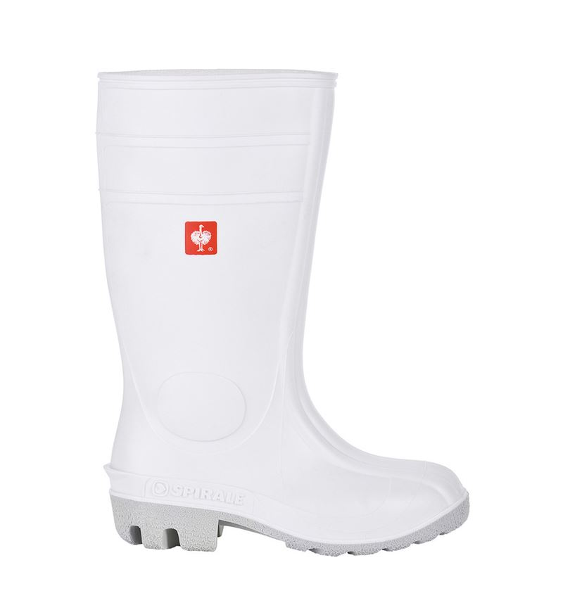 S4: S4 Safety boots + white