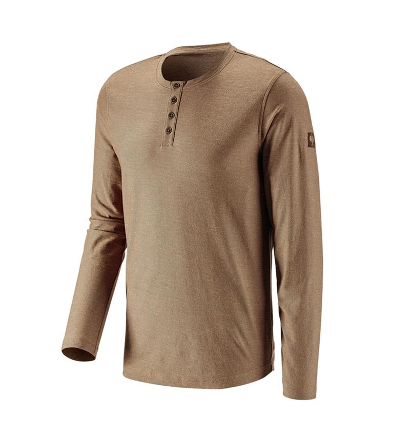 Shirts, Pullover & more: Long sleeve e.s.vintage + sepia melange