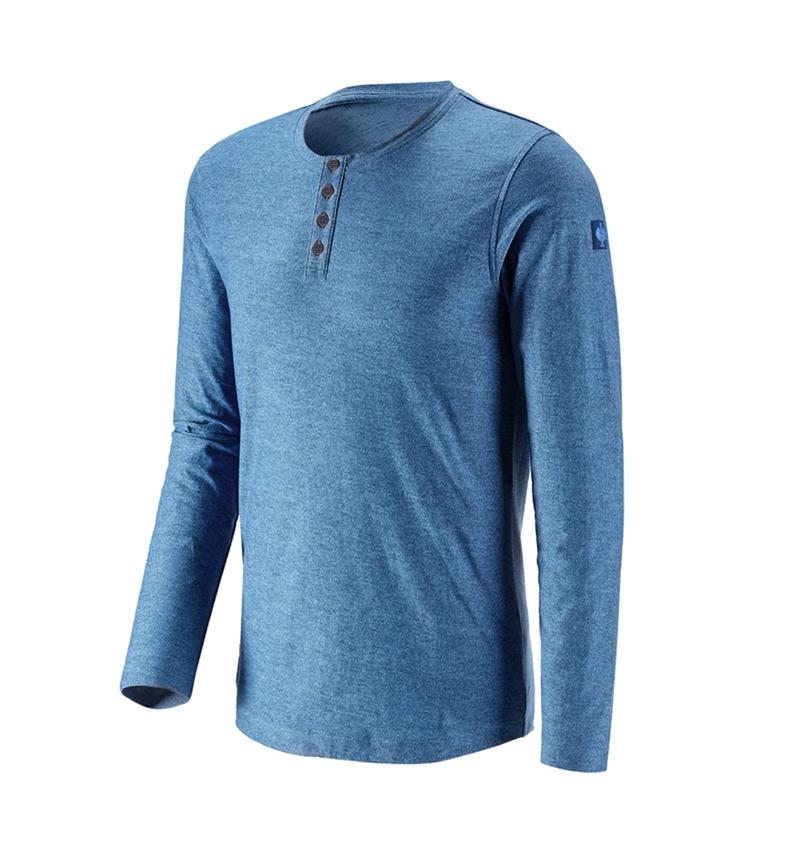 Shirts, Pullover & more: Long sleeve e.s.vintage + arcticblue melange