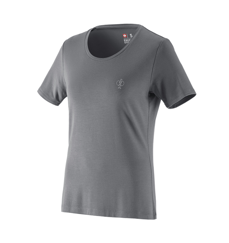 Shirts, Pullover & more: Modal-shirt e.s. ventura vintage, ladies' + basaltgrey