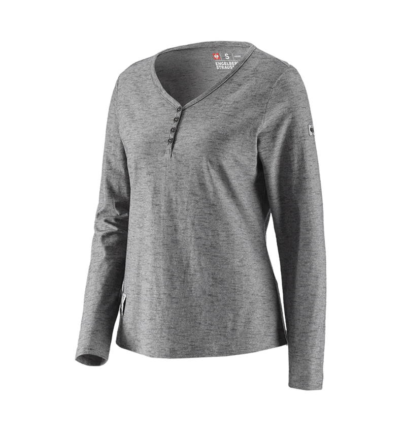 Shirts, Pullover & more: Long sleeve e.s.vintage, ladies' + black melange