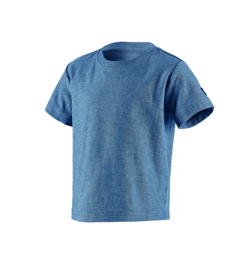 Shirts & Co.: T-Shirt e.s.vintage, Kinder + arktikblau melange