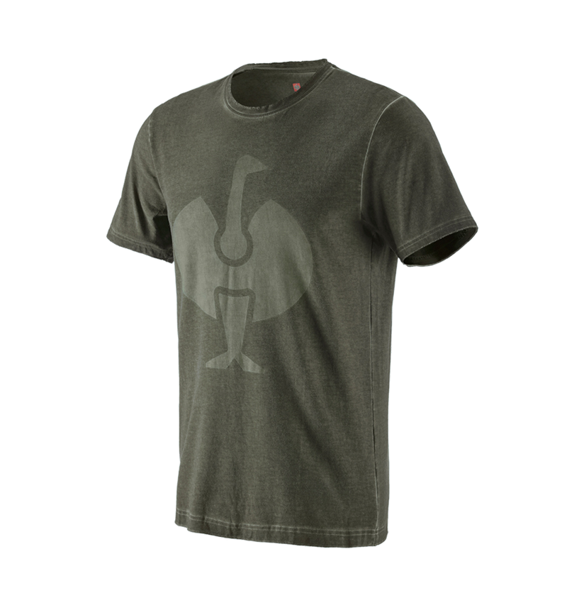 Shirts, Pullover & more: T-Shirt e.s.motion ten ostrich + disguisegreen vintage