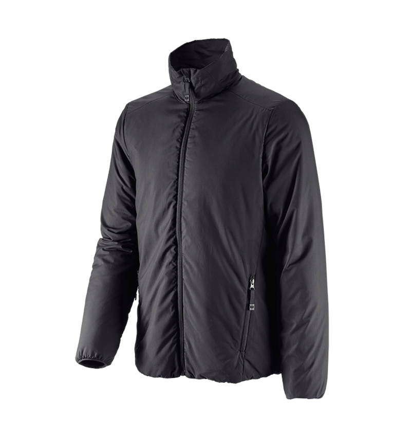 Work Jackets: e.s. Padded jacket CI + black