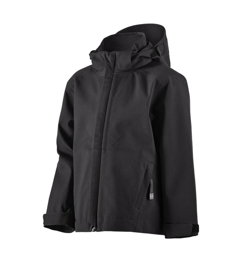 Jackets: e.s. Functional jacket CI, children's + black