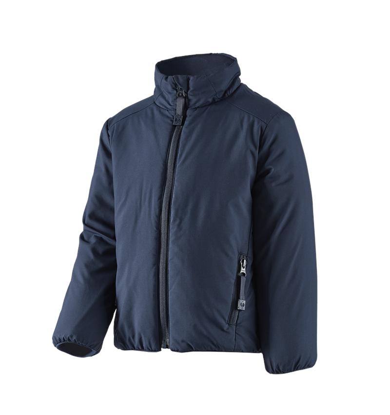 Jacken: e.s. Padded-Jacke CI, Kinder + dunkelblau