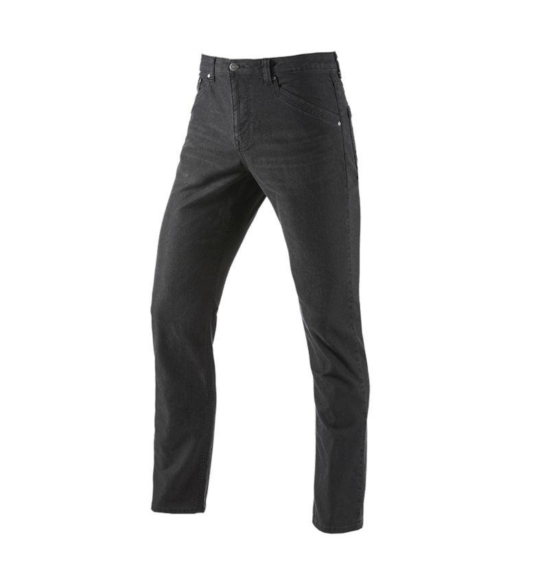 Work Trousers: 5-pocket Trousers e.s.vintage + black